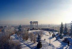 Миргород Зимой.