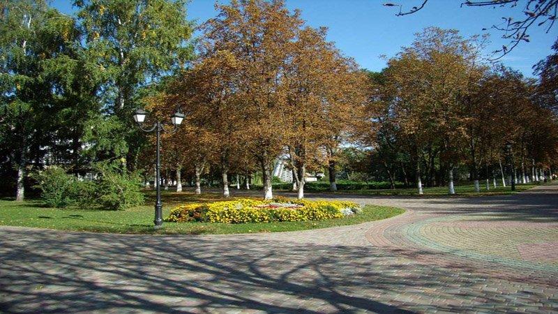 Парковая зона Миргорода