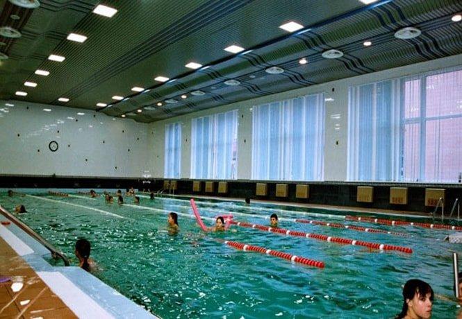 Плавание в Миргороде.