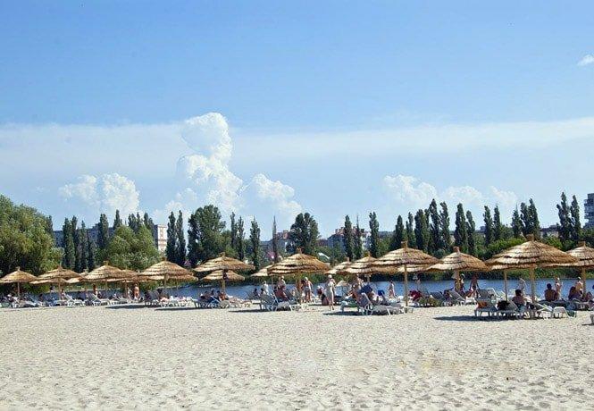Пляж в Миргороде.