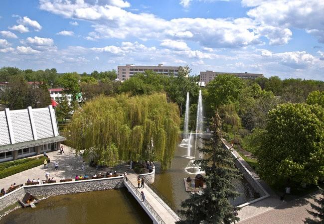 "Санаторий ""Березовый Гай"" Миргород - Вид."