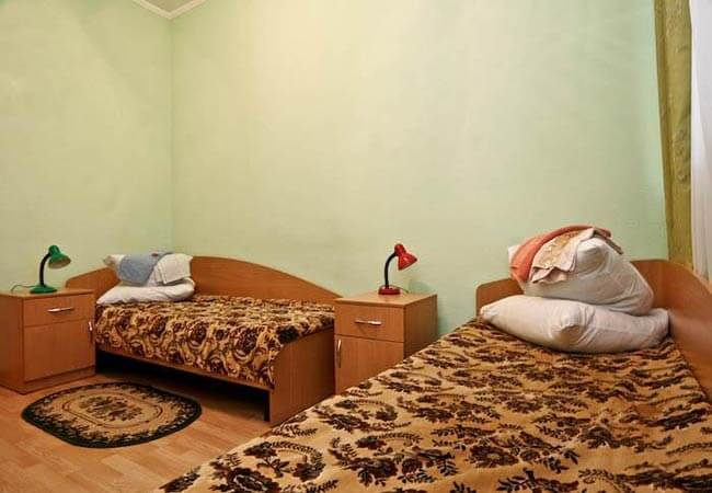 Березовый Гай Миргород Фото - Номер Стандарт 2-местный улучшенный+ - Кровати.
