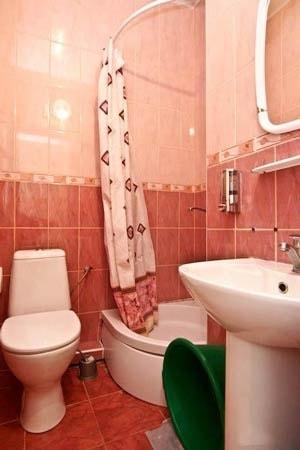 Березовый Гай Миргород Фото - Номер Стандарт 2-местный - Ванная.