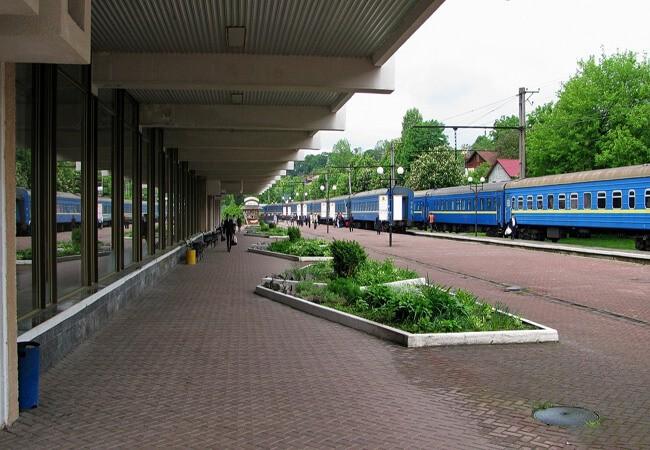 Поезд в Трускавце