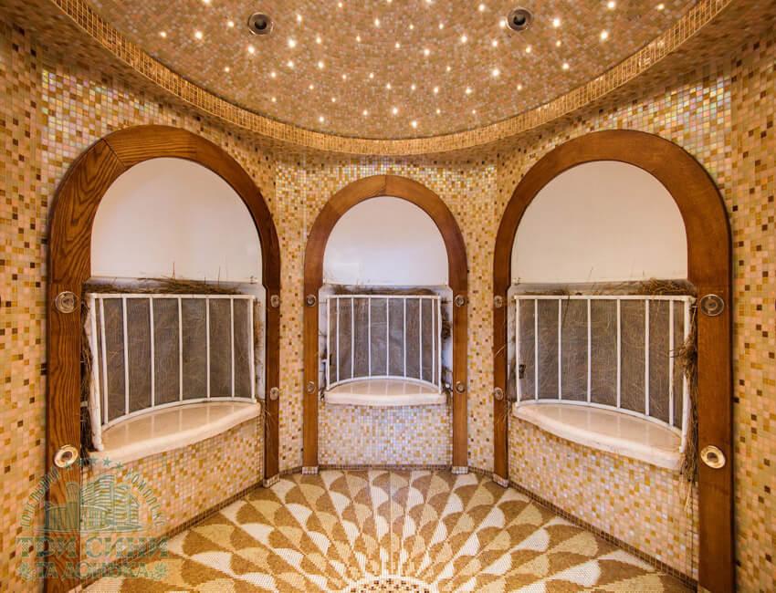 Отель Три Сына и Дочка 5* Фото - Хамам.