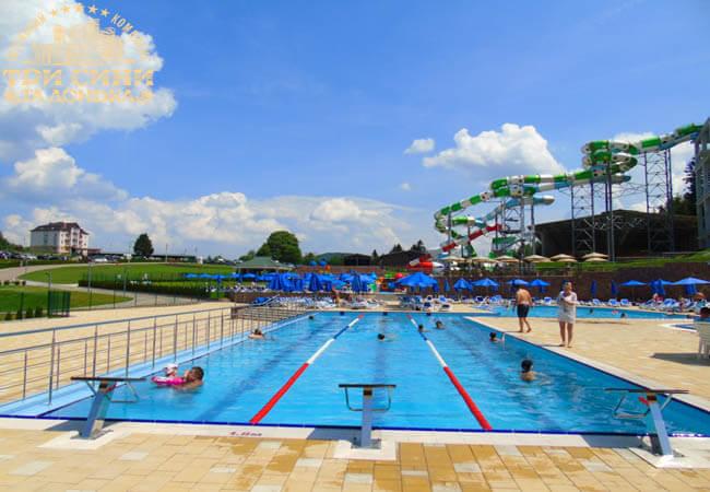 Три сини та донька Аквапарк - Спортивный бассейн