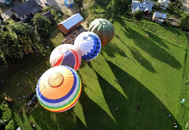 Воздушные шары в Сходнице