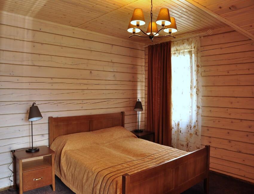 Таор Карпаты Сходница Фото - Номер большой семейный дом - Кровать.