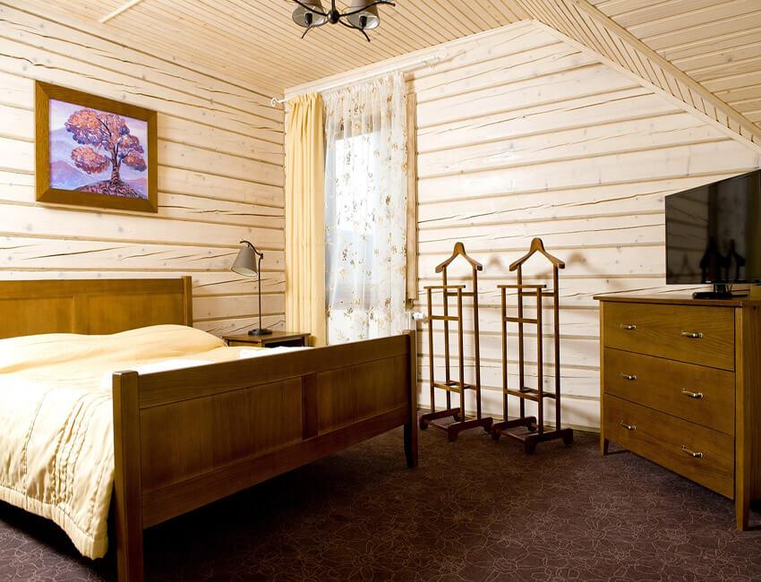 Таор Карпаты Сходница Фото - Номер большой семейный дом - В спальне.