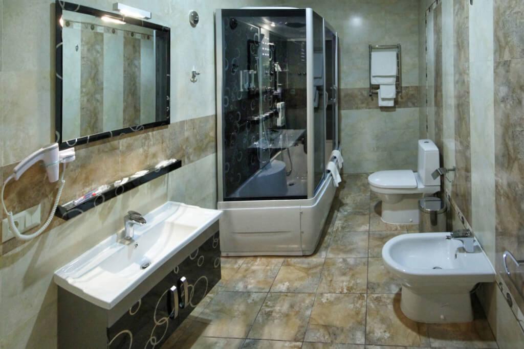 Отель Дианна Сходница Фото - Номер люкс двухуровневый - Комплектация.