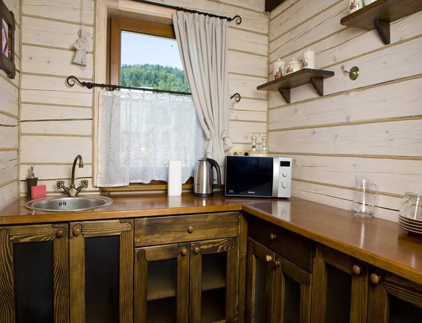 Таор Карпаты Сходница Фото - Номер маленький семейный дом - Кухня.