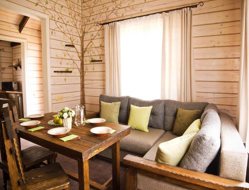 Таор Карпаты Сходница Фото - Номер маленький семейный дом - Зона отдыха.