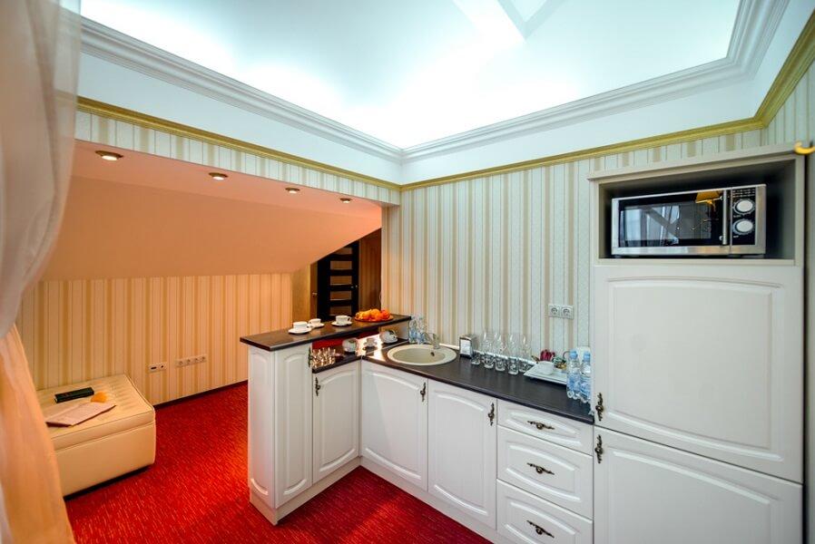 киевская русь сходница фото - номер апартаменты - мини-кухня.