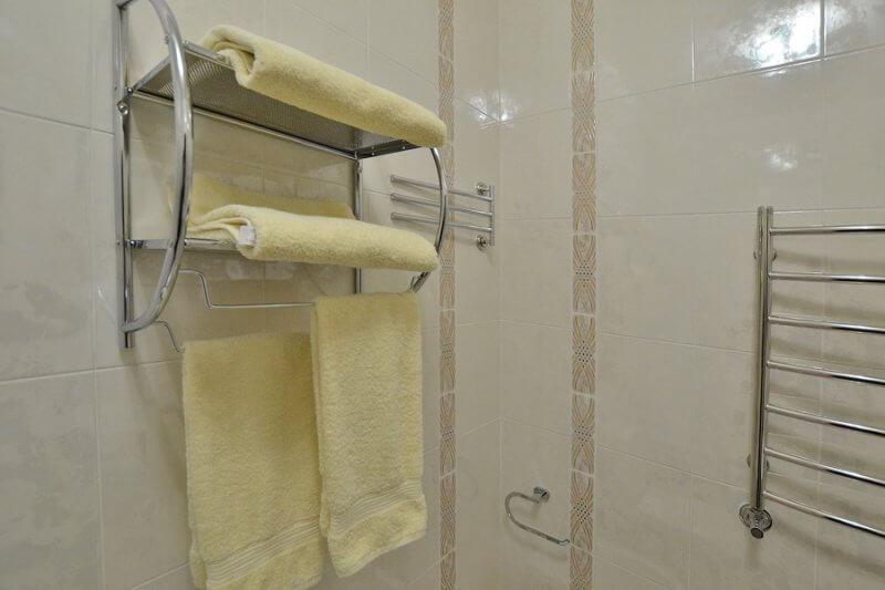 Отель Дианна Сходница Фото - Номер стандарт классик - Полотенца.