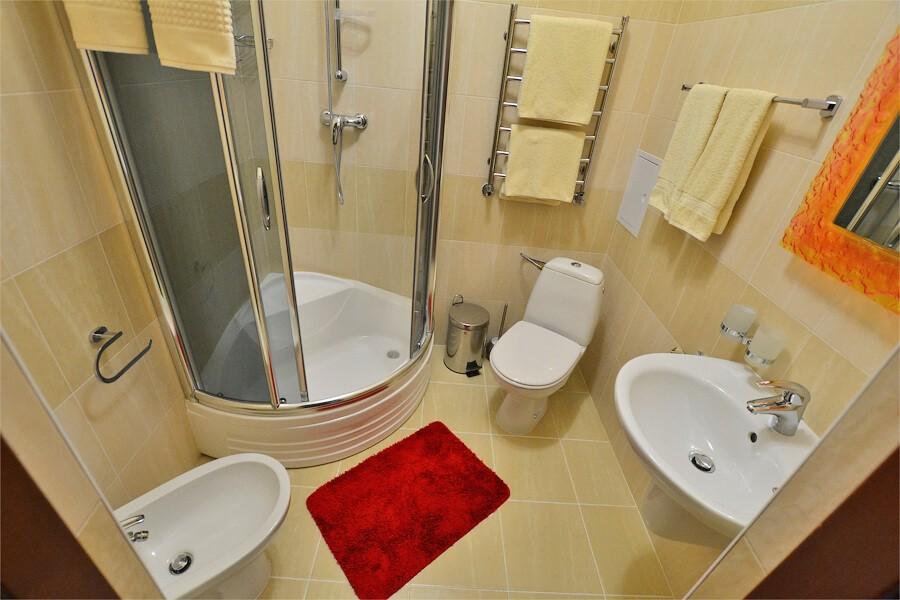 Отель Дианна Сходница Фото - Номер стандарт классик - Душевая кабина.