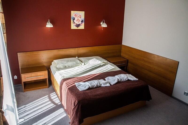 Санта Мария Сходница Фото - Номер Полулюкс двухместный - Кровать.