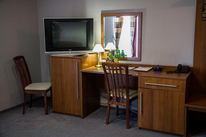 Санта Мария Сходница Фото - Номер Полулюкс двухместный - Телевизор.