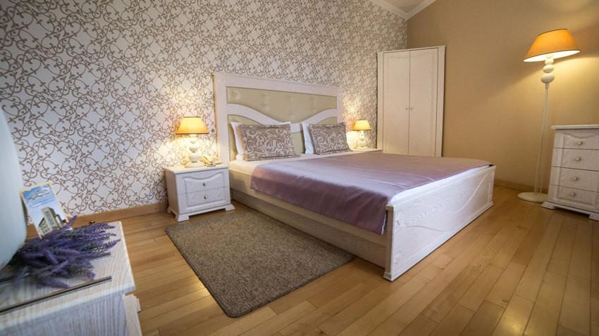 Тустань Сходница Фото - Номер одноместный стандарт А - Кровать.