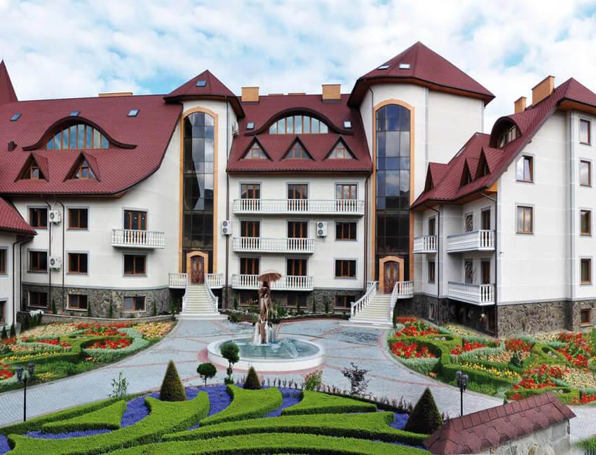 Отель Дианна Сходница Фото - Фасад.