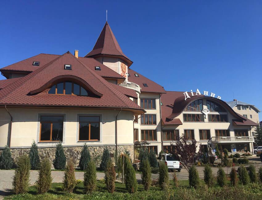 Отель Дианна Сходница Фото - Корпус.