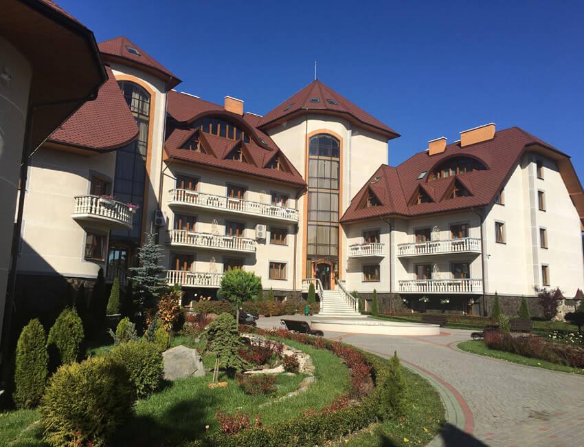 Отель Дианна Сходница Фото - Корпус сзади.