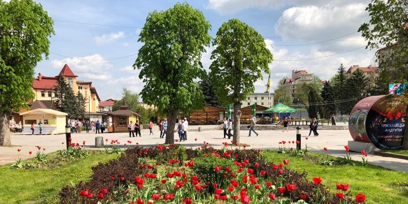 Трускавецкий парк - фото.