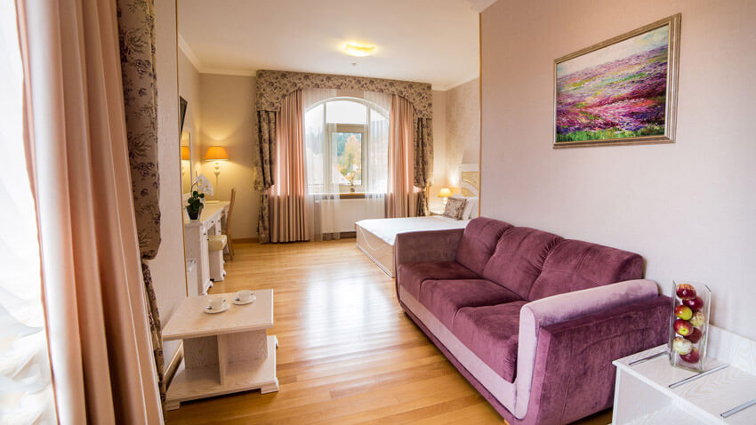 Тустань Сходница Фото - Номер полулюкс А улучшенный - диван.