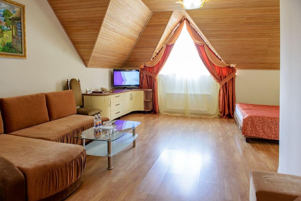 Отель Дианна Сходница Фото - Номер полулюкс junior - гостиная