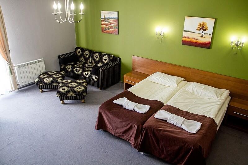 Санта Мария Сходница Фото - Номер Полулюкс двухместный улучшенный - Кровати.