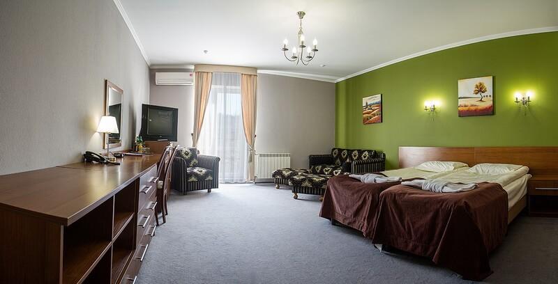 Санта Мария Сходница Фото - Номер Полулюкс двухместный улучшенный - Спальня.