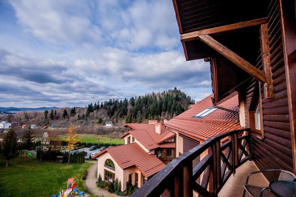 Отель Респект Сходница Фото - Вид с окна.