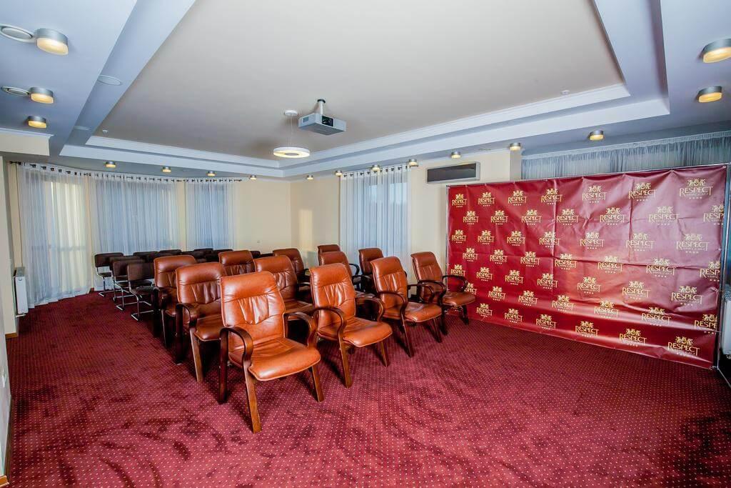 Отель Респект Сходница Фото - Конференц-зал.