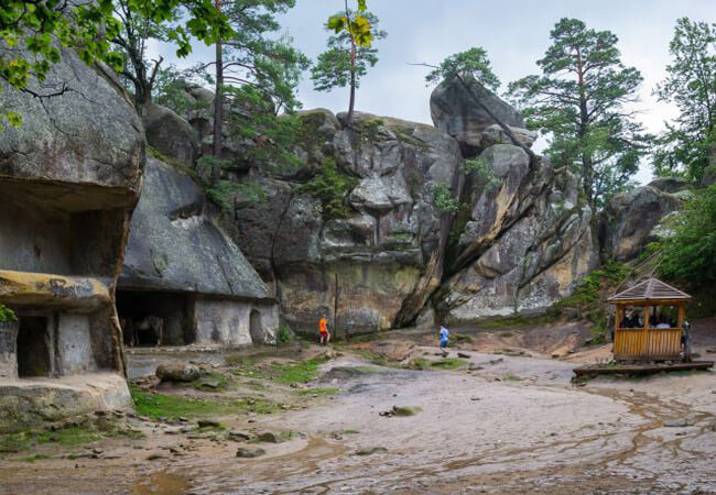 Скалы Довбуша - Фото