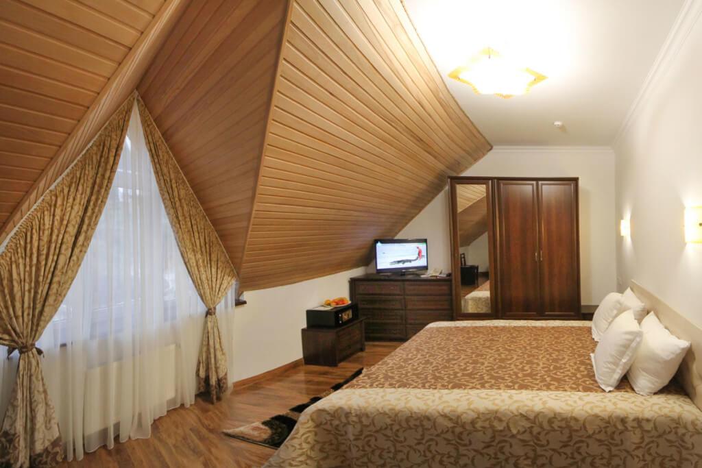 Отель Дианна Сходница Фото - Номер стандарт комфорт - Спальня.