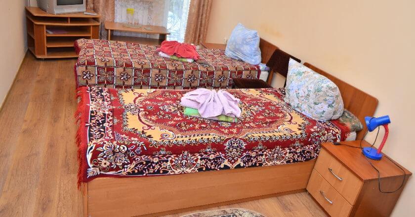 Стожары Сходница Фото - Номер Стандарт Двухместный - Две кровати.