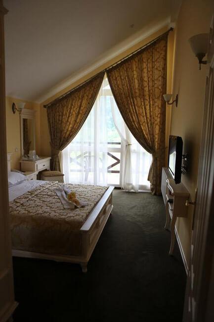 Отель Респект Сходница Фото - Номер стандарт улучшенный - Комната.