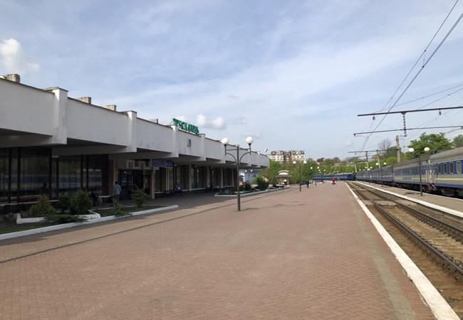 Вокзал в Трускавце.