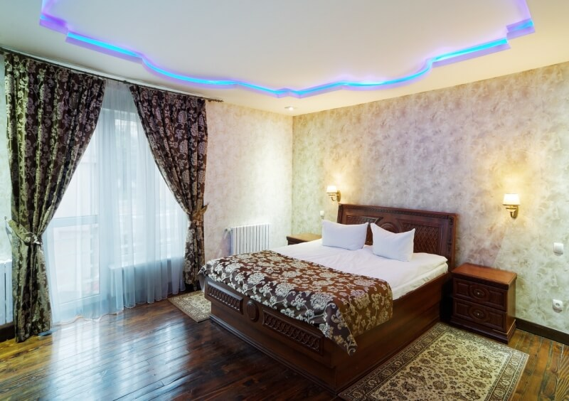 Санаторий Виктор в Трускавце Номер - царский трехкомнатный - спальня