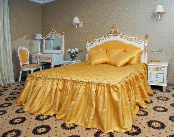 Женева Promenade Номер - DE LUXE - Спальня.