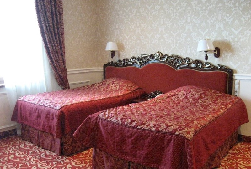 Женева Royal Grand Номер - DE LUXE SUITE - Кровати.