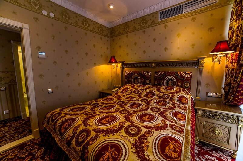 Женева Royal Grand Номер - DE LUXE TEMATIK - Спальня.