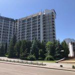 Отель Бескид Трускавец Фото - Вид с дороги.