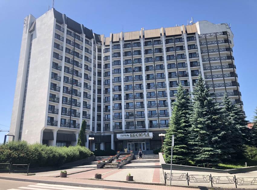 Отель Бескид Трускавец Фото - Корпус.