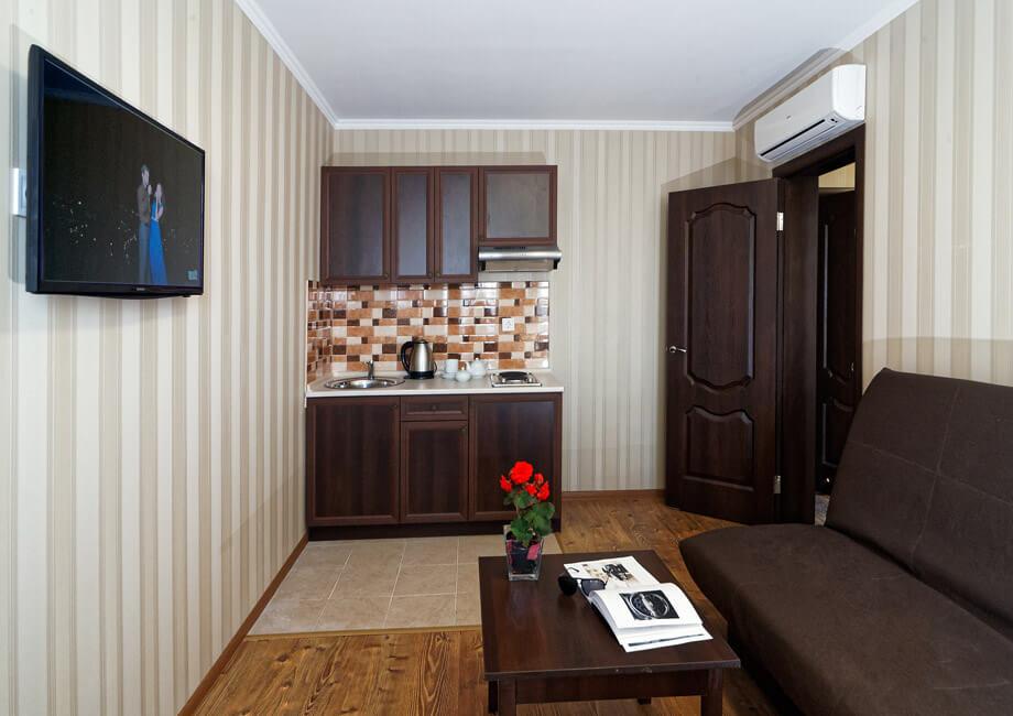 Лесная Песня Трускавец Фото - Номер двухкомнатный апартамент - Комплектация.