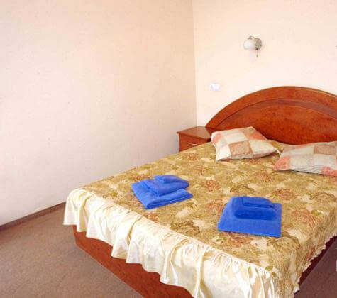 Санаторий Молдова Трускавец - Номер двухместный полулюкс - Спальня.