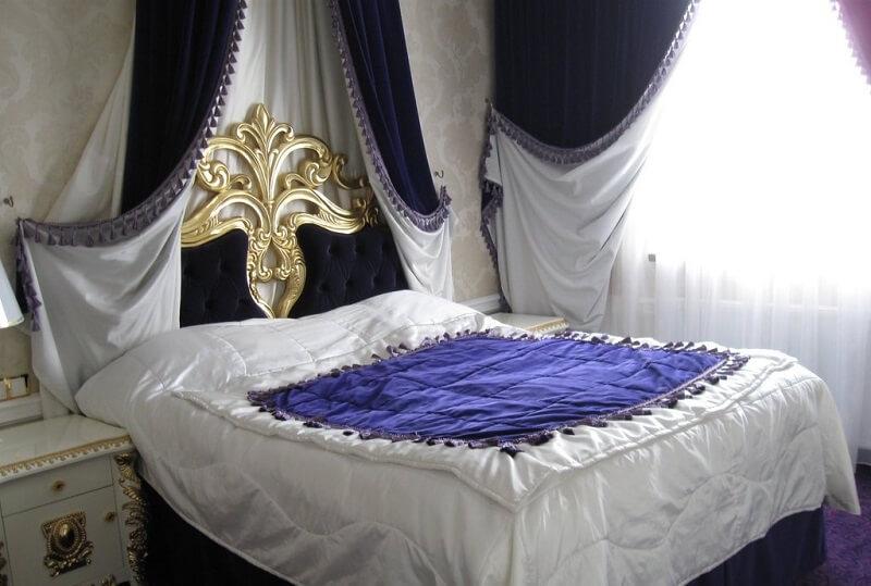 Женева Royal Grand Номер - VIP EXECUTIVE SUITE - Кровать.