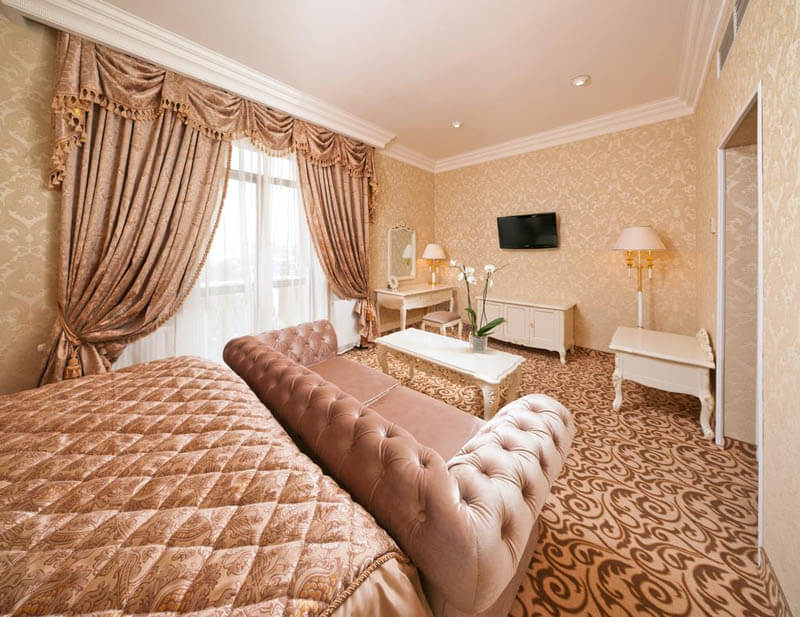 Женева Royal Grand Номер - JUNIOR SUITE - Комната.
