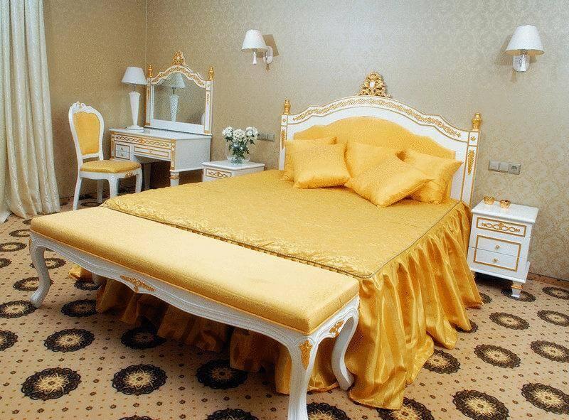 Женева Promenade Номер - EXECUTIVE SUITE - Кровать.