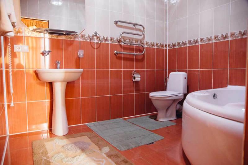 Жемчужина Прикарпатья Трускавец Номер - Люкс - туалет.