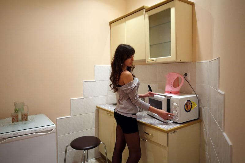 Санаторий Шахтер Трускавец Номер - двухкомнатный люкс с кухней - кухня.